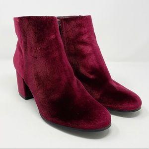Circus Sam Edelman | Vikki Velvet Block Heel Boots